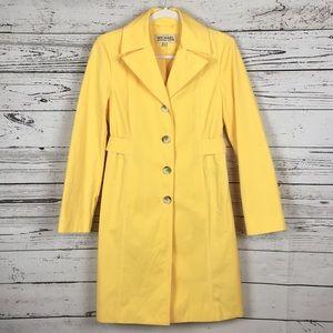 Michael Kors   Yellow Trench Coat